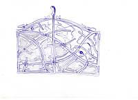 Эскиз кованых ворот
