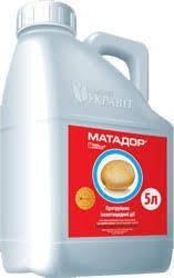 Протравитель семян Матадор с.к.  Укравит 5 л(Аналог Гаучо )