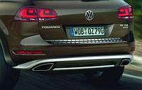 Накладка крышки багажника для Volkswagen Touareg 11-2016 Новый Оригинальный