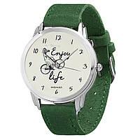 Наручные часы AndyWatch enjoy life green