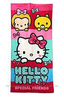 Пляжное полотенце Hello Kitty 70*140 см