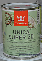 Уретановый полуматовый лак Уника Супер (TIKKURILA Unica Super) 20 0,9л