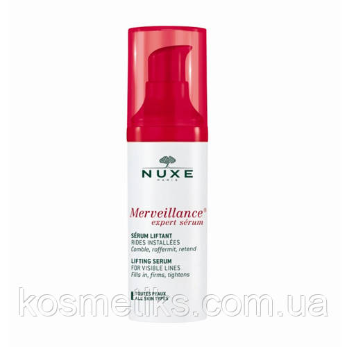Лифтинг-сыворотка Nuxe Anti-Wrinkle Serum Merveillance Expert 30 мл