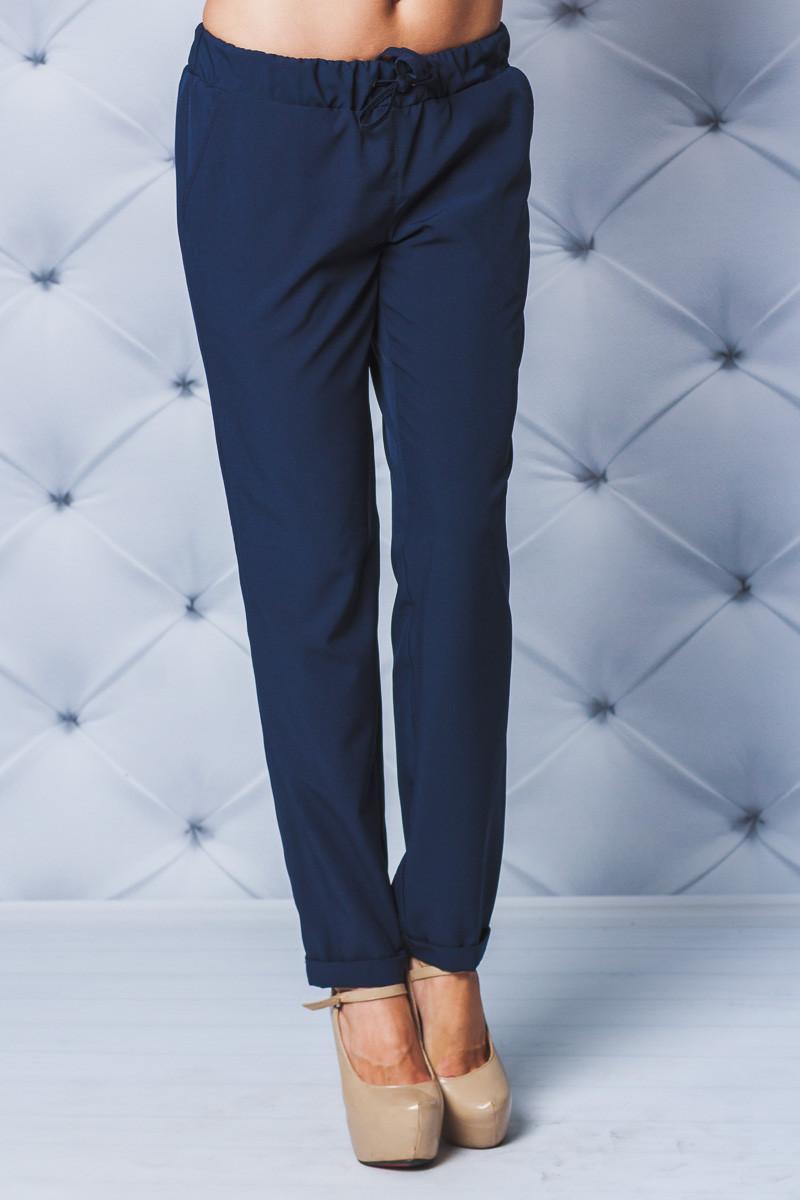 Штаны женские софт т-синие
