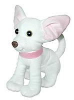 Маленькая мягкая игрушка Собачка Чихуахуа белый 21 см, Тигрес (СО-0095)