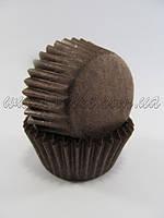 Бумажныея формы для конфет и кейк-попсов, коричневый цвет