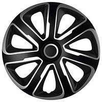Колпак Колесный Livorno Carbon (серебристо-черный) R16