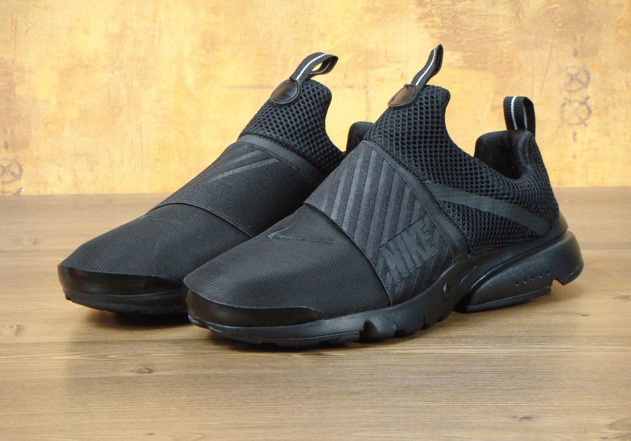 Кроссовки мужские Nike Air Presto Extreme Black, найк аир престо
