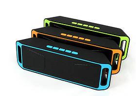 Портативна STEREO Колонка SPS SC-208 MP3 Bluetooth USB FM