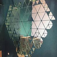 Зеркальное панно, изготовление , установка