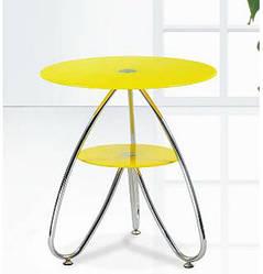 Стол журнальный Камилла-3 (СТ126) 49*49*54 см (каленое стекло)