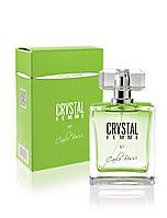 Парфюмерная вода для женщин Crystal Femme GREEN (Carlo Bossi), 100 мл
