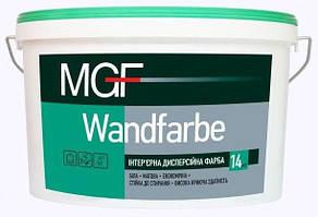 Водно-дисперсионная краска MGF Wandfarbe M1a для внутренних работ  14 кг