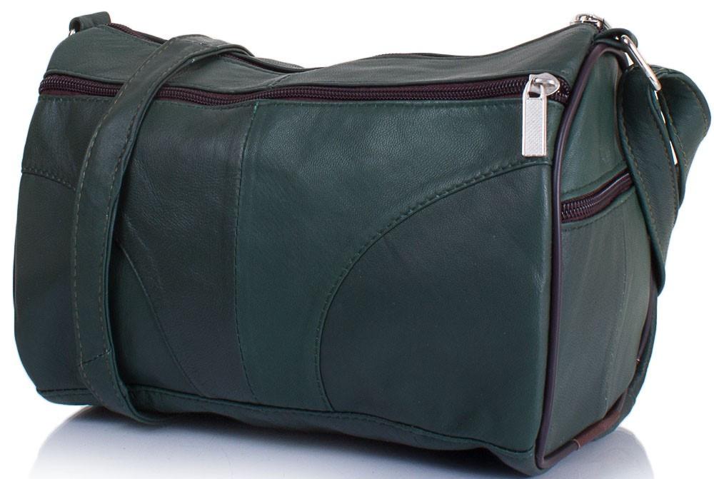 c600e204 Женская кожаная сумка TUNONA SK2401-4 зеленый — только качественная ...