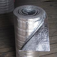 Теплоизоляция отражающая полиэтилен вспененный химически фольгированный с двух сторон 1м х 100м х 4мм