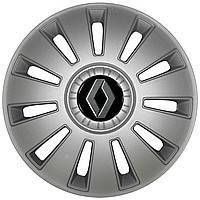 Колпаки на колеса R16 Renault (цвет серый) 4 шт