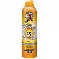 Солнцезащитный спрей Australian Gold Continuous Spray Clear SPF 15
