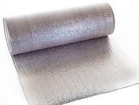 Теплоизоляция отражающая пенополиэтилен фольгированный с двух сторон 1м х 50м х 5мм