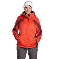 Куртка горнолыжная WHS женская № 5745402, оранжевый