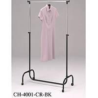 Стойка вешалка для одежды Onder Mebli CH-4001-CR BK 80x45x100-170 см Черный