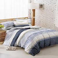 Полуторный комплект постельного белья 150*220 сатин (7293) TM KRISPOL Україна