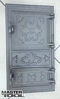Дверка спаренная топочная + поддувальная 485*275 мм чугун Mastertool 92-0374