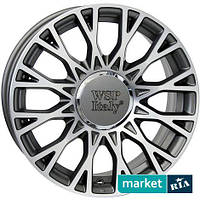 Литые легкосплавные диски WSP Italy W162 Grase Anthracite Polished (R15 W6 PCD4x98 ET35 DIA58.1)