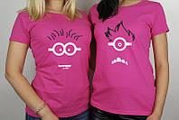 Парные футболки для подруг, фото 1