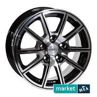 Литые легкосплавные диски Racing Wheels H-423 BK-F/P (R16 W7 PCD4x108 ET40 DIA67.1)