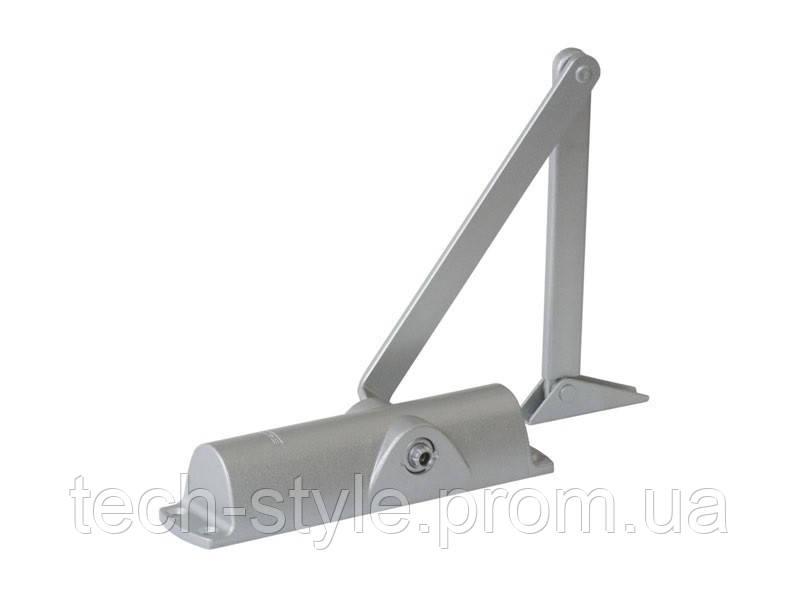 Доводчик дверной Geze TS 1000 C, серебро