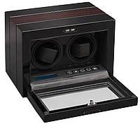 Шкатулка для автоподзавода 2-х часов Rothenschild RS-54S-2-BE с LCD дисплеем