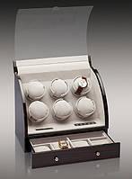 Шкатулка для автоподзавода 6-ти часов Rothenschild RS-326-6-E с LCD дисплеем