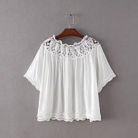 Свободная легкая блузка, фото 1