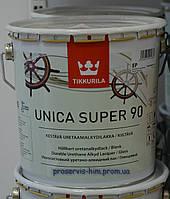 Уретано-алкидный глянцевый лак Уника Супер (Unica Super) 90 2,7л