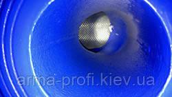 Нержавеющая сетка во фланцевом фильтре.