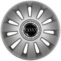 Колпак Колесный Audi комплект (СЕРЫЙ) R16
