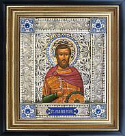 Роман Римский именная икона скань
