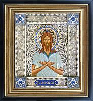 Алексий человек Божий именная икона скань