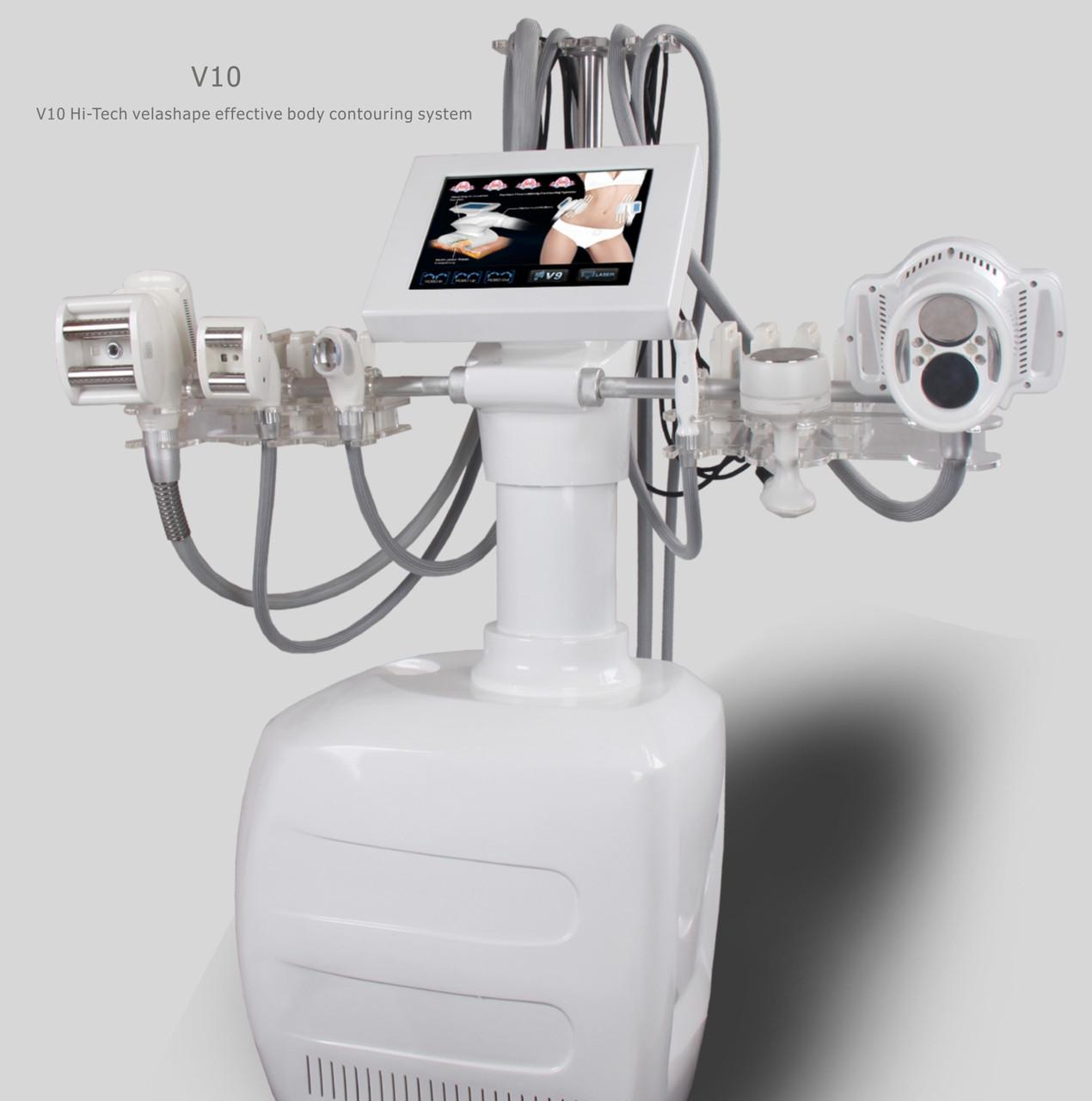 Velashape V10Е+  аппарат 4 роллера + кавитация + липолазер
