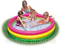 Детский надувной бассейн Intex 57412 113-26 см. 173 литров