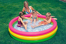 Детский надувной бассейн Intex 57412 113-26 см. 173 литров, фото 2