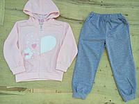Спортивный костюм для девочки . Размеры: 110,116, фото 1