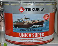 Уретано-алкидный полуглянцевый лак Уника Супер (Unica Super) 50 9л