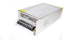 Блок питания адаптер 12V 50A Metall S-600-12
