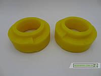 Комплект полиуретановых проставок под пружины (перед/зад) для Nissan Patrol Y60 / Y61 (50мм)