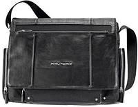 """Практичная мужская сумка с отделением для ноутбука 15"""" Piquadro Link, CA1592LK_N черный"""