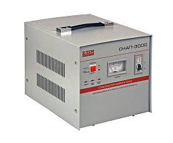 Однофазный стабилизатор напряжения сервоприводный СНАП-3000 Элим Украина