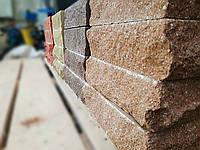 Кирпич облицовочный рваный камень (скала) типа Фагот