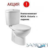 Roca VICTORIA 34940200U Унитаз-компакт сидение без доводчика