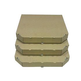 Коробки для піци бурі